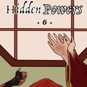 Weapon 843 (Hidden Powers, Chapter 6)